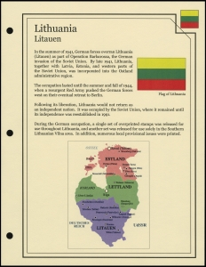 Lithuania Cover