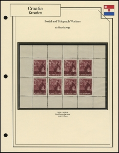 Postal and Telegraph Workers Sheet