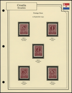 Numeral Postage Dues
