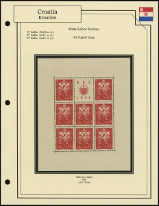 State Labor Service Sheet