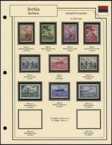 Airmail Overprints