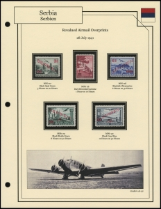 Revalued Airmail Overprints