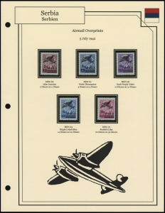 Airmail Overprints