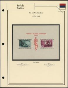 Aid for War Invalids Sheetlet