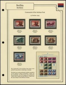 Centennial of Serbian Post