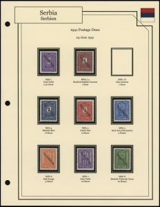 Postage Dues