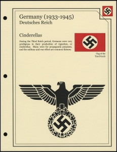 Third Reich Cinderellas Cover