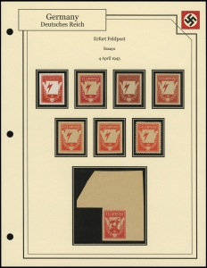 Erfurt Feldpost Essays