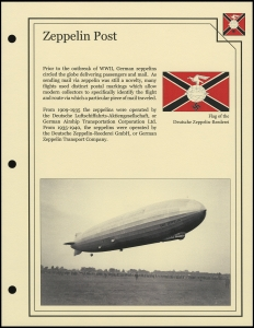 Zeppelin Post Cover