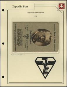 Zeppelin-Eckener-Spende Postcard Envelope