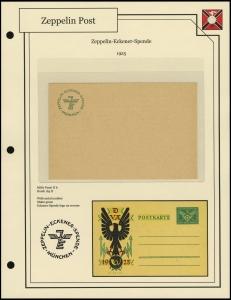 Zeppelin-Eckener-Spende Postal Stationery