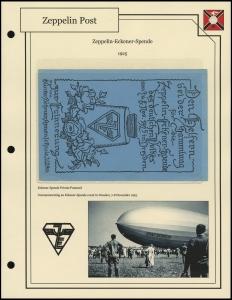 Zeppelin-Eckener-Spende Private Postcard