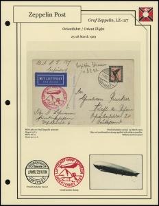 LZ-127 - 1929 - Orientfahrt