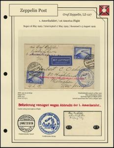 LZ-127 - 1929 - 1. Amerikafahrt