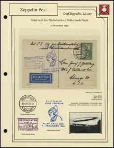 LZ-127 - 1930 - Niederlandefahrt