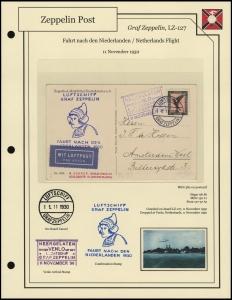 LZ-127 - 1930 - Fahrt nach den Niederlande