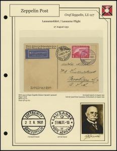 LZ-127 - 1931 - Lausannefahrt