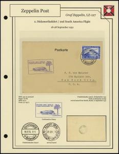 LZ-127 - 1931 - 2. Südamerikafahrt