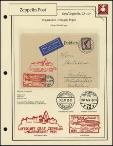 LZ-127 - 1931 - Ungarnfahrt