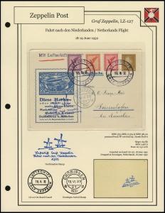 LZ-127 - 1932 - Niederlandefahrt
