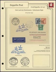 LZ-127 - 1932 - Fahrt nach den Niederlande