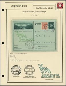 LZ-127 - 1933 - Deutschlandfahrt