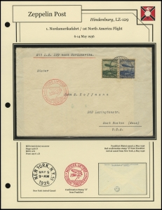LZ-129 - 1936 - 1. Nordamerikafahrt