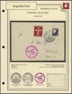 LZ-129 - 1936 - Olympiafahrt