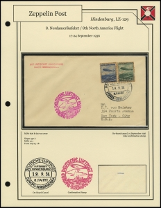 LZ-129 - 1936 - 8. Nordamerikafahrt