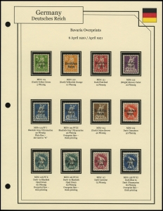 Bavaria Overprints