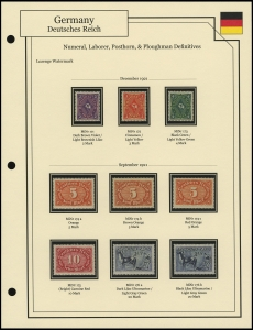 Lozenge Wmk Definitives