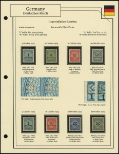Hyperinflation Rosette Plate Flaws