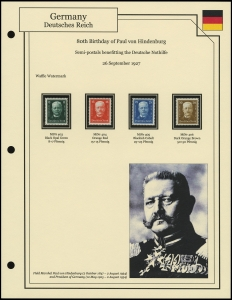 Hindenburg's Birthday