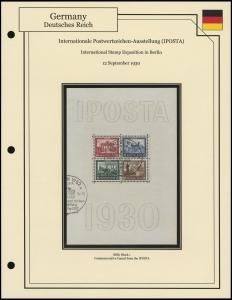 IPOSTA Sheet