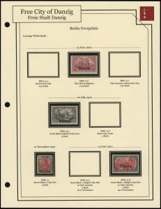 Berlin Overprints