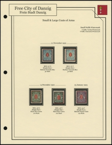 Small & Large Coats of Arms