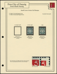 Small Coat of Arms Coil Stamps