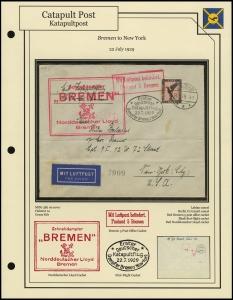 <i>Bremen</i> - New York (22 July 1929)