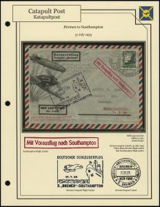 <i>Bremen</i> - Southampton (31 July 1935)