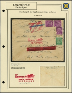 <i>Bremen</i> Supplemental Flight (24 June 1936)