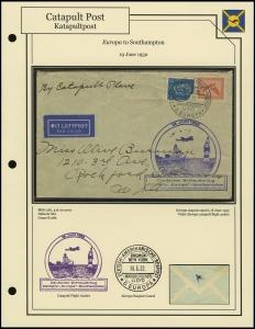 <i>Europa</i> - Southampton (19 June 1932)