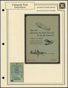 South Atlantic Catapult Flyer