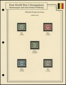 Malmedy Postage Due Issues