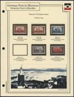 1905 Germania Overprints (Deutsches Reich)