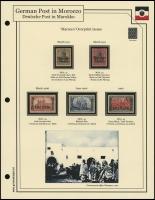 1906 / 1911 Germania Overprints