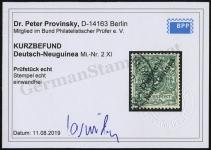 Provinsky Certificate