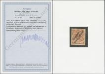 Jäschke-Lantelme MiNr. 1 e Certificate