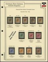 1897-1899 Overprints