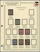1893 / 1896 Overprints