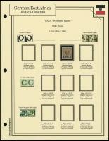 1893 / 1896 Overprints Plate Flaws